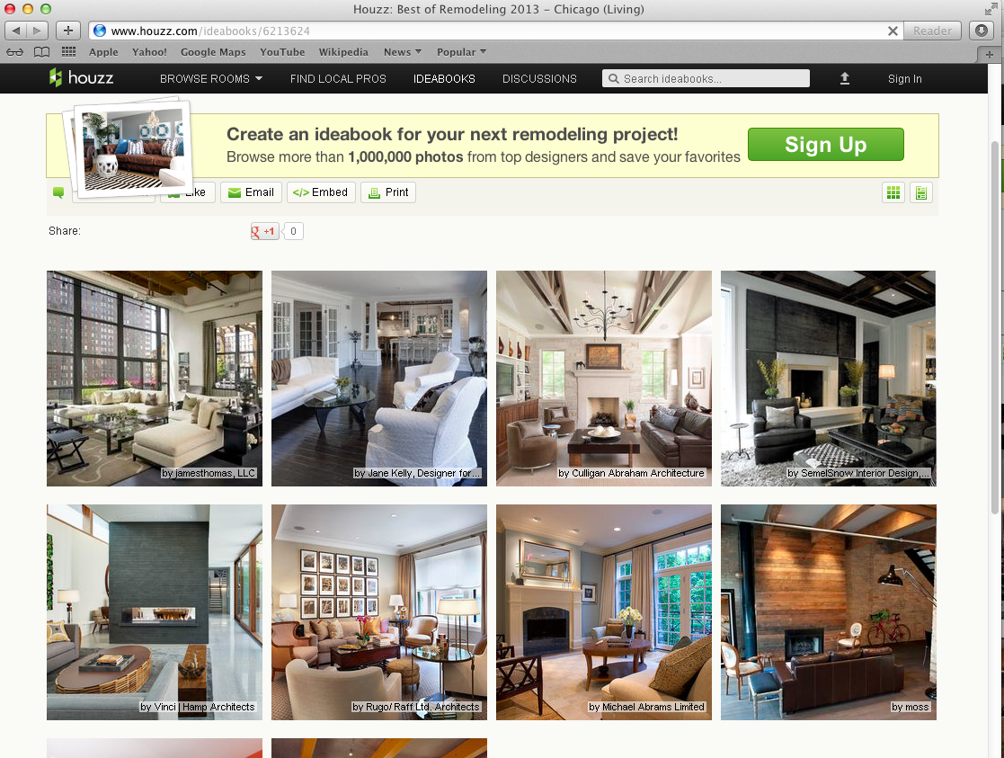 Best of Houzz 2013 moss design
