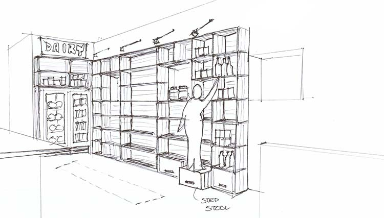 jolly posh perpective_shelving