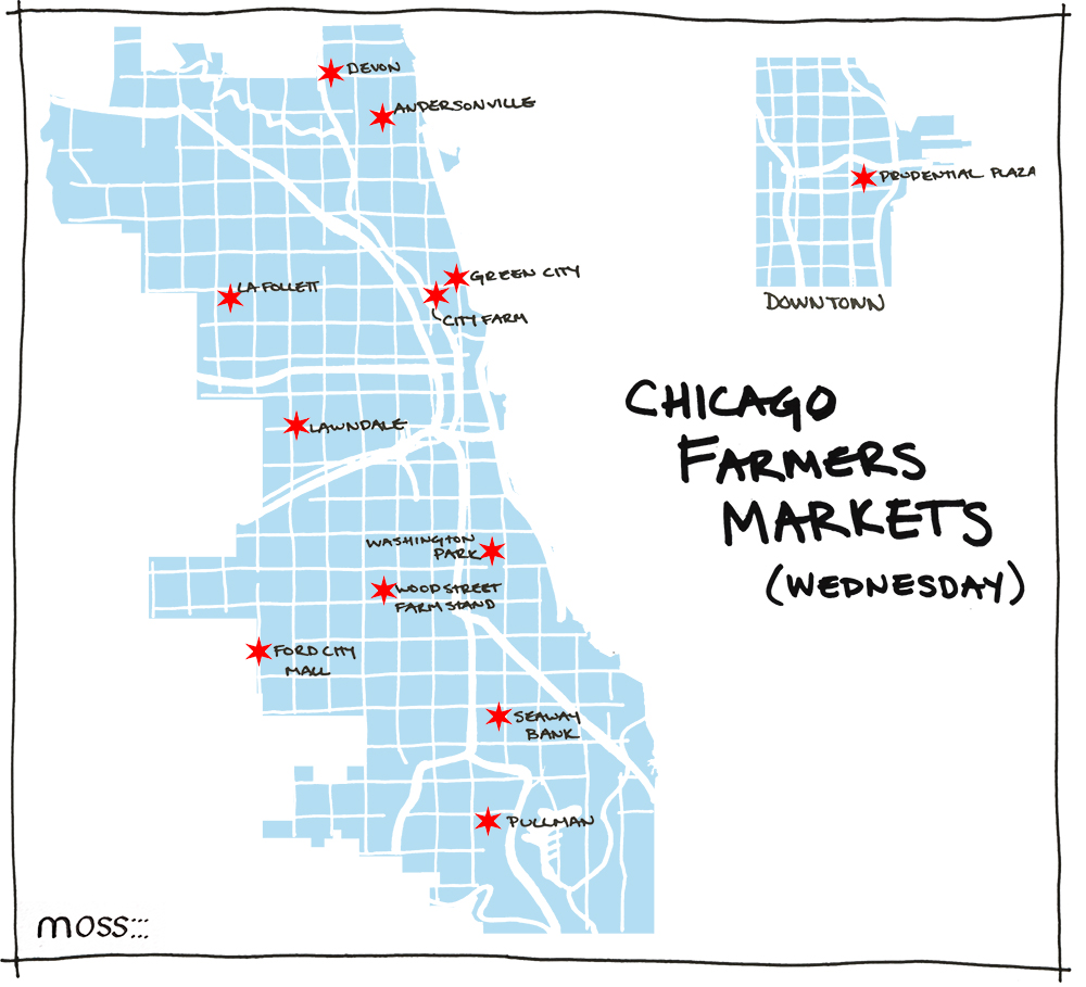 Chicago Farmers Market Map_wednesday