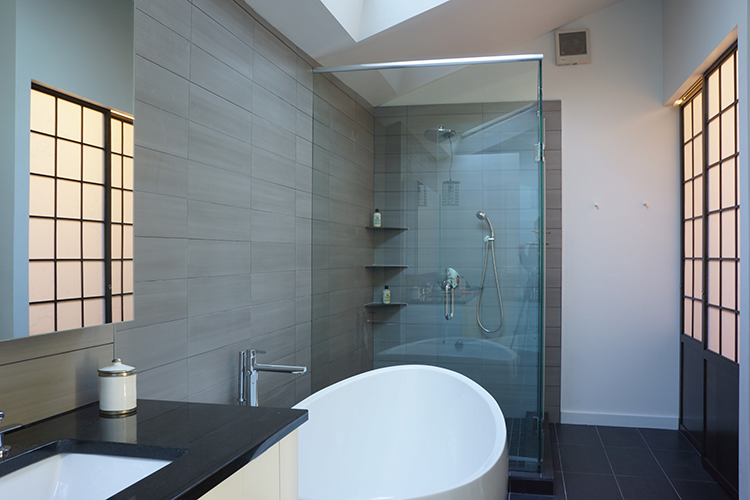 Bathroom Design Principles four principles of a clean, green bathroom update | moss architecture