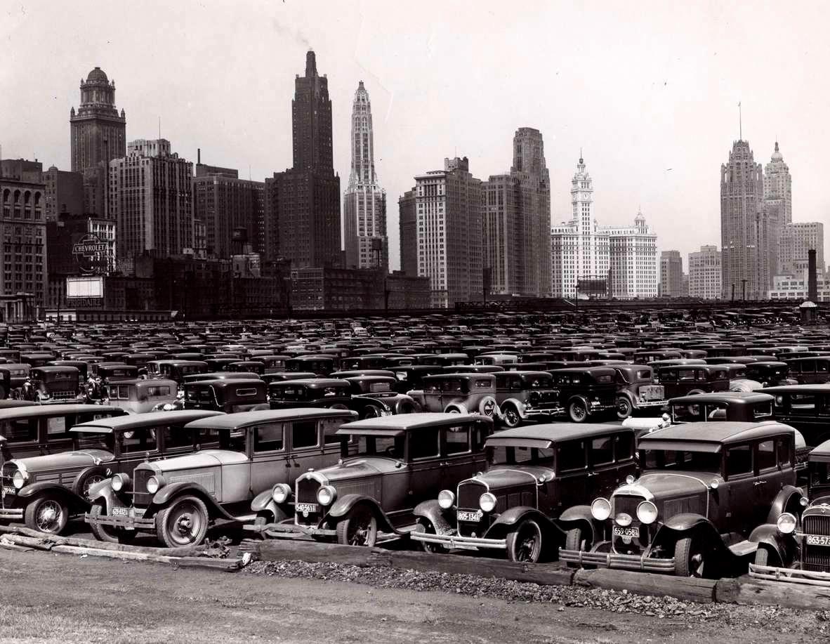 cars in grant park