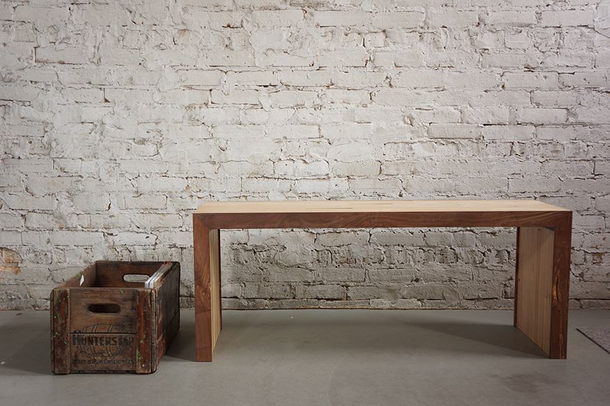 Sensational Bench Made Of Reclaimed Bowling Lanes Moss Design Gmtry Best Dining Table And Chair Ideas Images Gmtryco