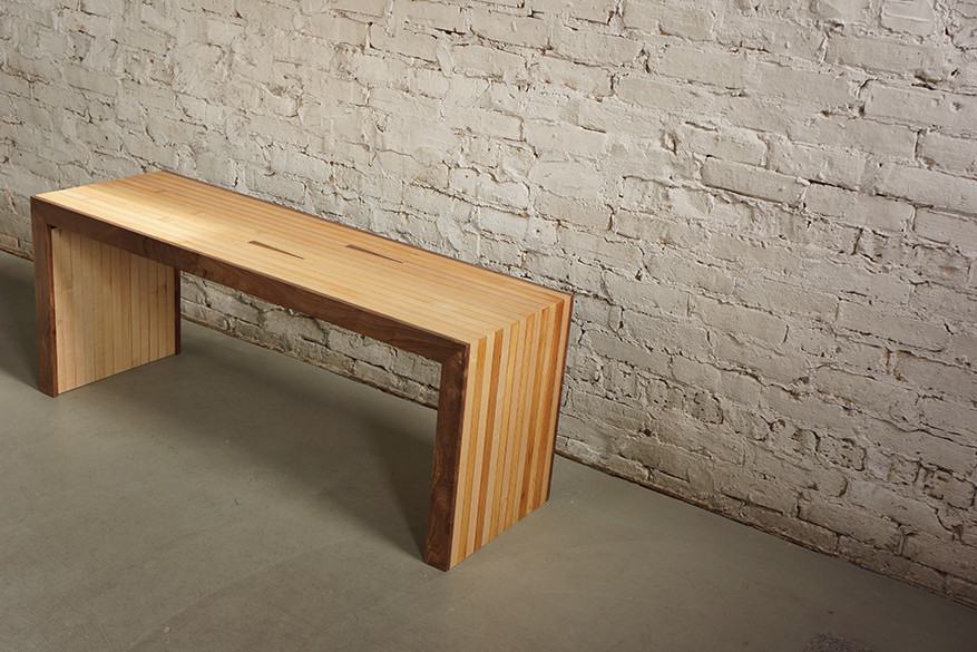 Superb Bench Made Of Reclaimed Bowling Lanes Moss Design Gmtry Best Dining Table And Chair Ideas Images Gmtryco