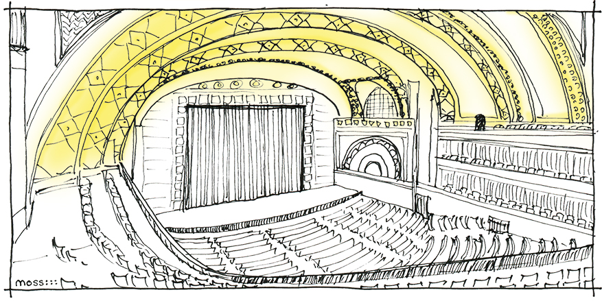 auditorium theater stage