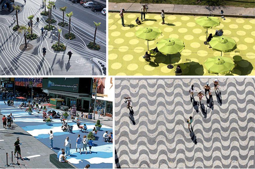 plaza design, inspiration, pinterest