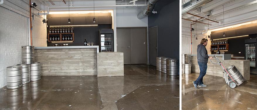 modern flooring choices, epoxy on concrete