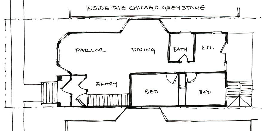 Chicago Building Types: the Greystone | Moss Architecture on chicago theater seating layout, chicago brownstone floor plans, chicago loft floor plans, london row houses floor plans,