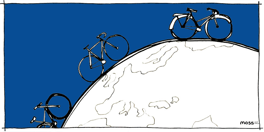 biking around the world