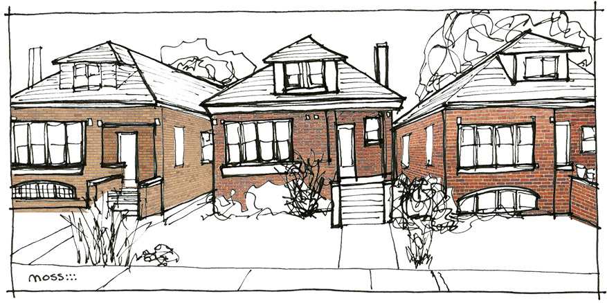chicago building type: bungalows