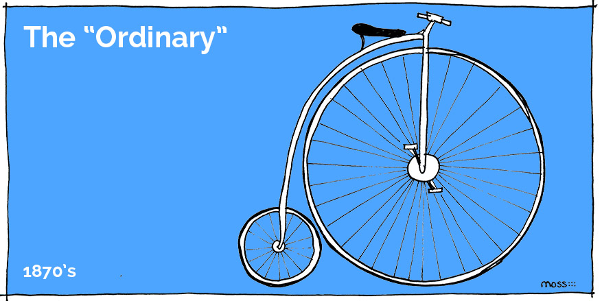 bike history, the ordinary