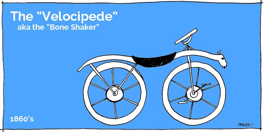 bike history: the velocipede