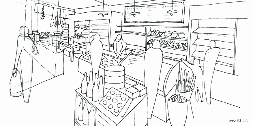 Retail Schematic Design