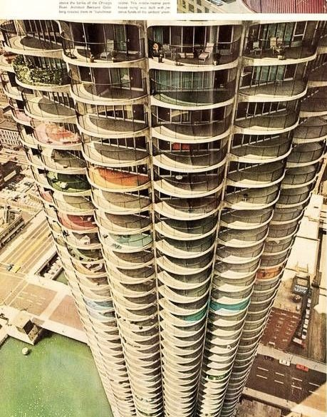 marina city balconies