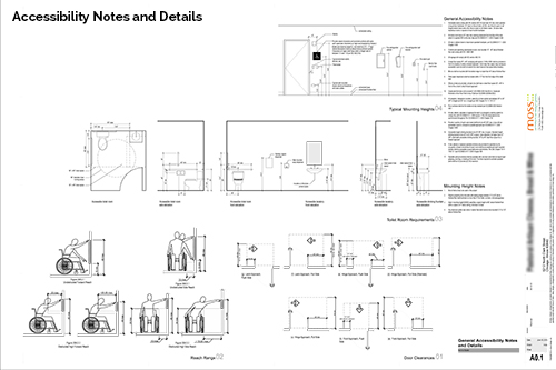 Volumes Projects Pastoral Clark Street Drawings Sheets A0 2