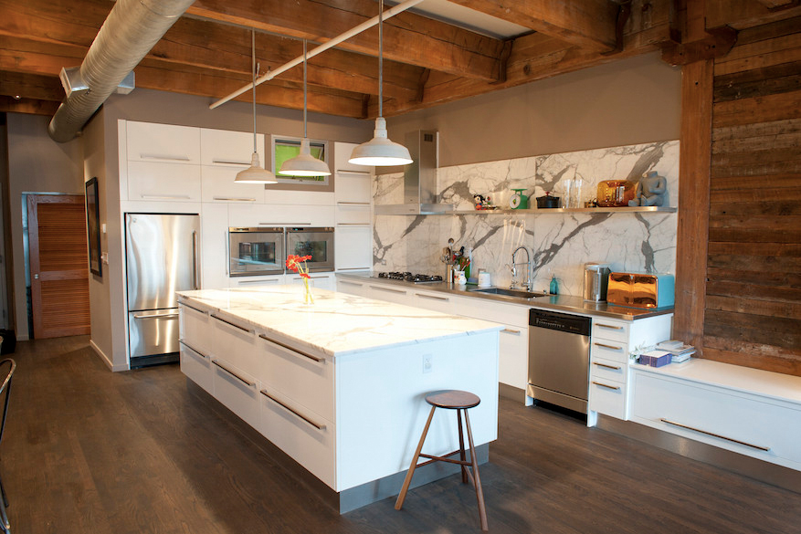 Erie Loft Kitchen