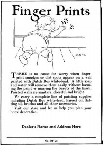 1927 lead paint ad