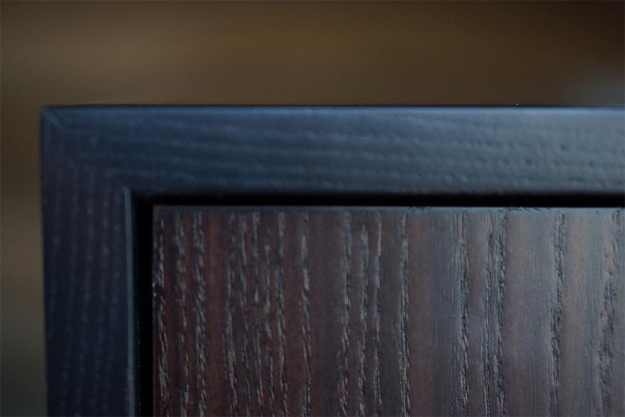 dark wood close up