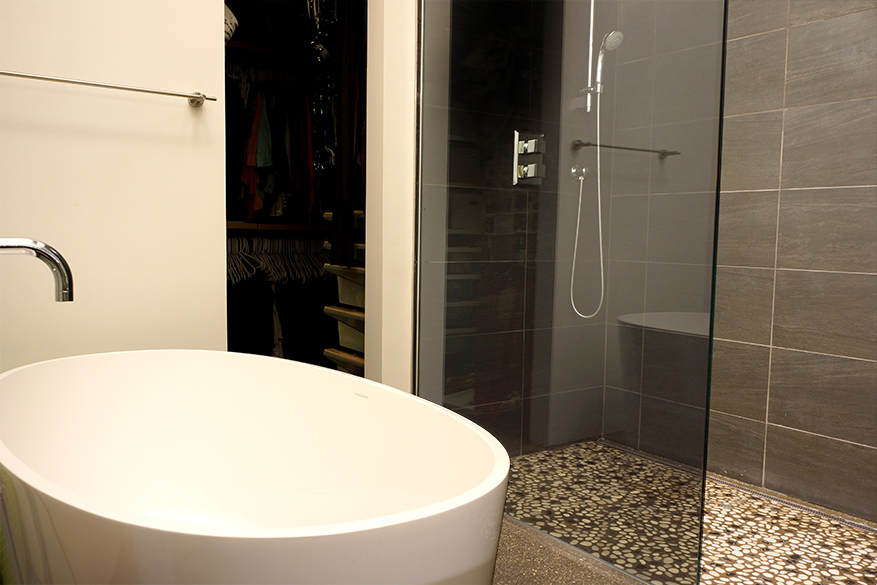 racine shower bath composite