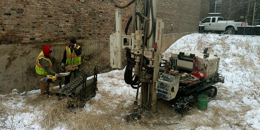 test boring machine - soil testing