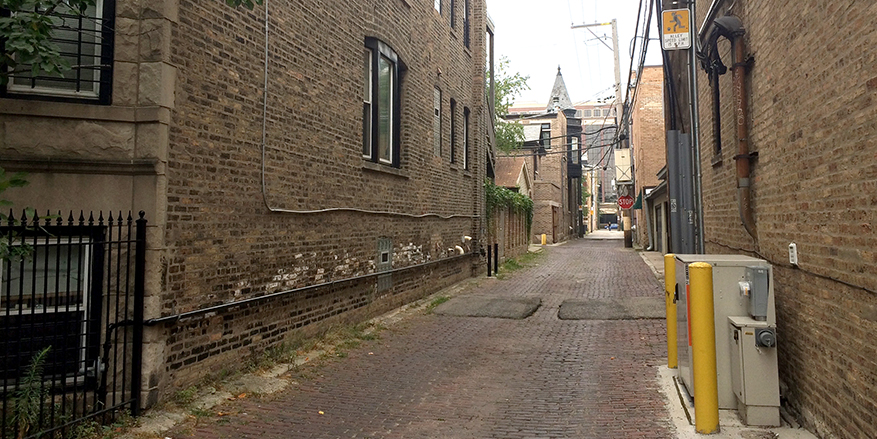 The Alley Behind Your Building Might Just Be Chicagos