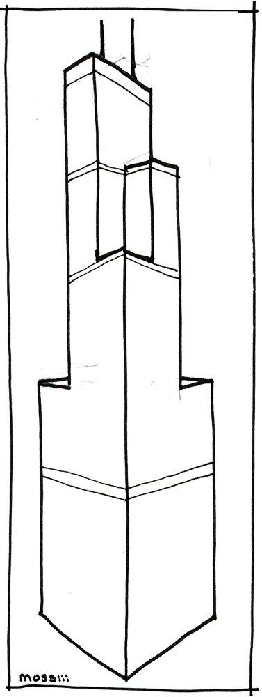 sears willis tower diagram