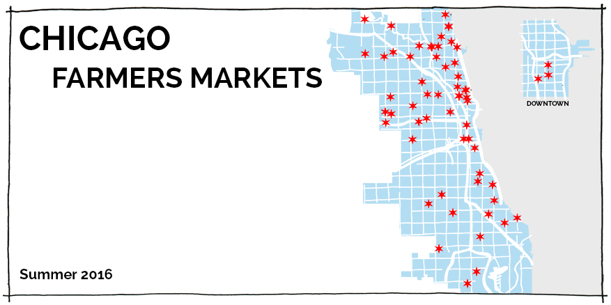 2016 Chicago Farmers Market Map