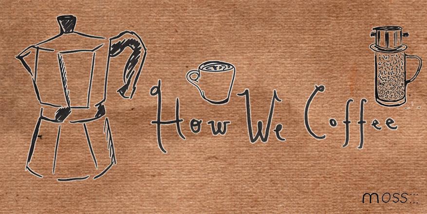 Moka Pot Coffee Illustration